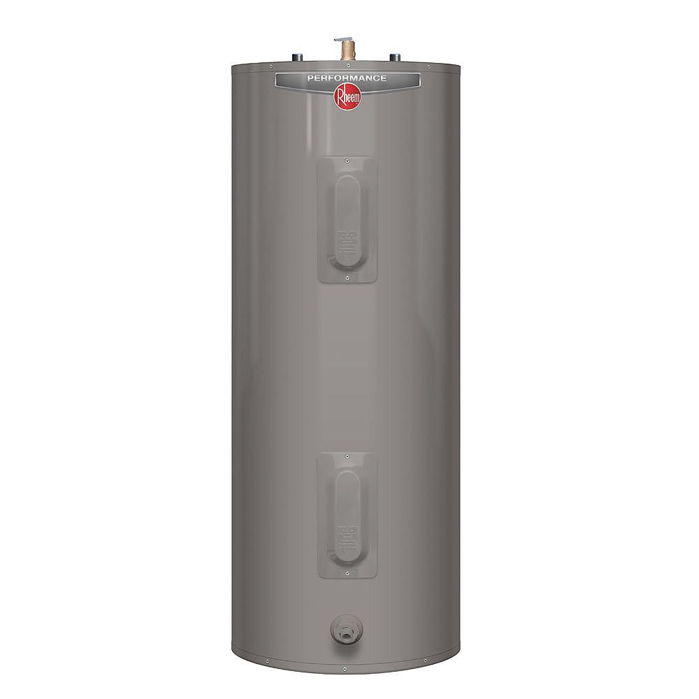 Rheem Performance 60 Gal Electric Water Heater with 6 Year Warranty