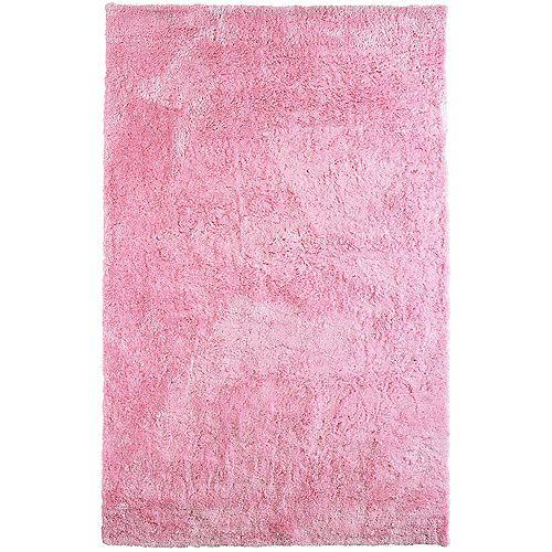 Lanart Rug Loft Shag Pink 8 ft. x 10 ft. Indoor Shag Rectangular Area Rug