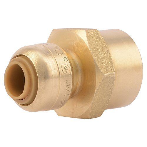 Connector 1/4 inch X 1/2 inch FNPT