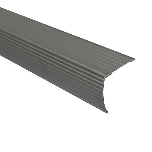 Cinch Stair Edging 1-1/8 inch Drop X 36 inch - Satin Silver