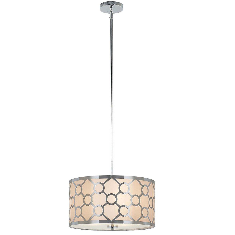 Home Decorators Collection Trina 3 Light 16 Inch Pendant