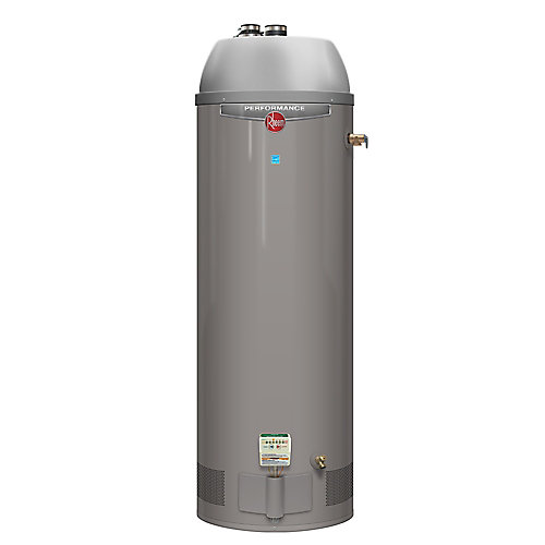 Performance Power Direct Vent 50 Gal Gas Water Heater with 6 Year Warranty