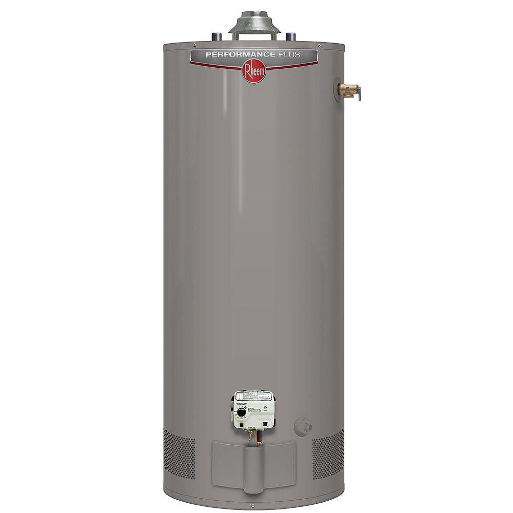 Rheem Performance Plus 40 Gal Gas Water Heater with 9 Year Warranty