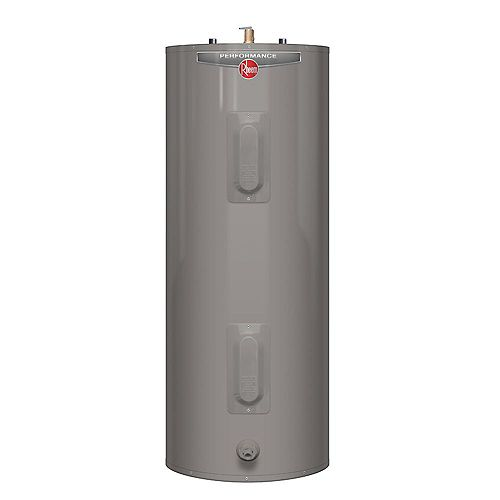Rheem Performance 39 Gal Electric Water Heater with 6 Year Warranty
