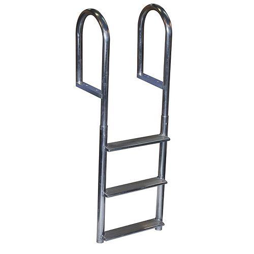 """""""Wide Step Aluminum Dock Ladder, 3 St"""""""