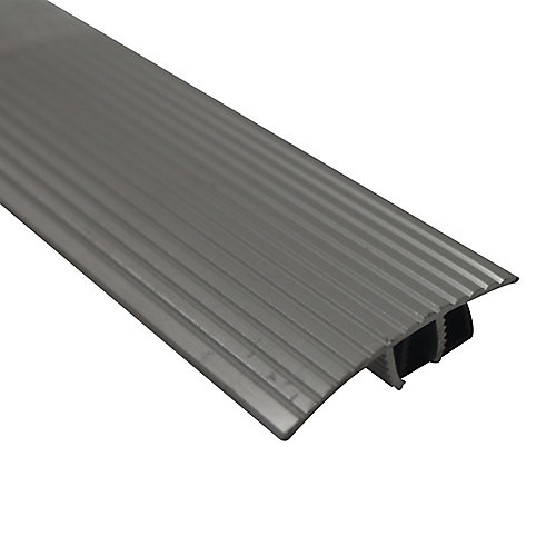 Cinch SnapTrack T-Moulding36 Inch Satin Silver
