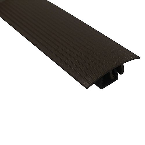 Cinch Snaptrack T-Moulding - 1-1/2 inch X 36 inch - Spice