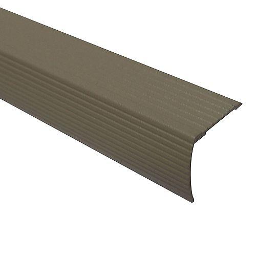 Cinch Stair Edging 1-1/8 inch Drop X 36 inch - Beige