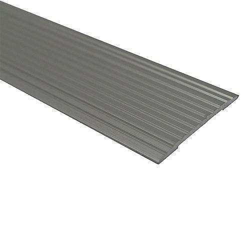 Cinch Seam Cover - 1 inch X 36 inch - Satin Silver