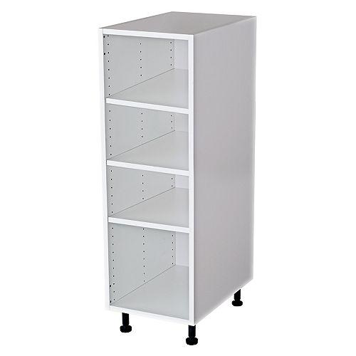 Tall Vanity Cabinet 15x49x18 White