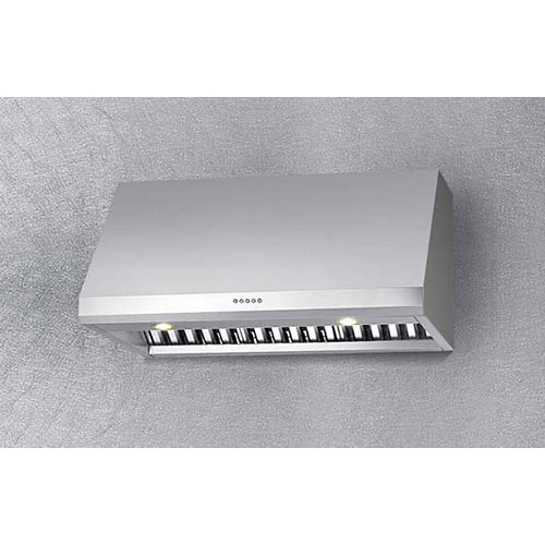 36-inch Professional Wall-Mount Range Hood in Stainless Steel
