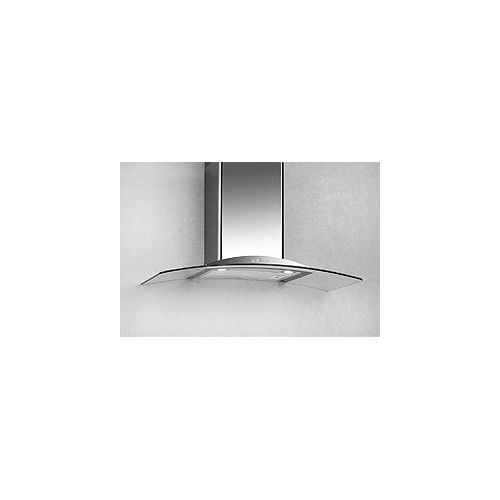 30-inch, 600 CFM Glass Canopy Wall-Mount Range Hood in Stainless Steel