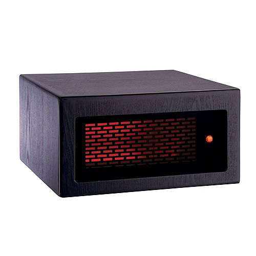 ACW0041WE Mini 1200W, 2 Heating Elements, Heats 500 Sq. ft. Espresso