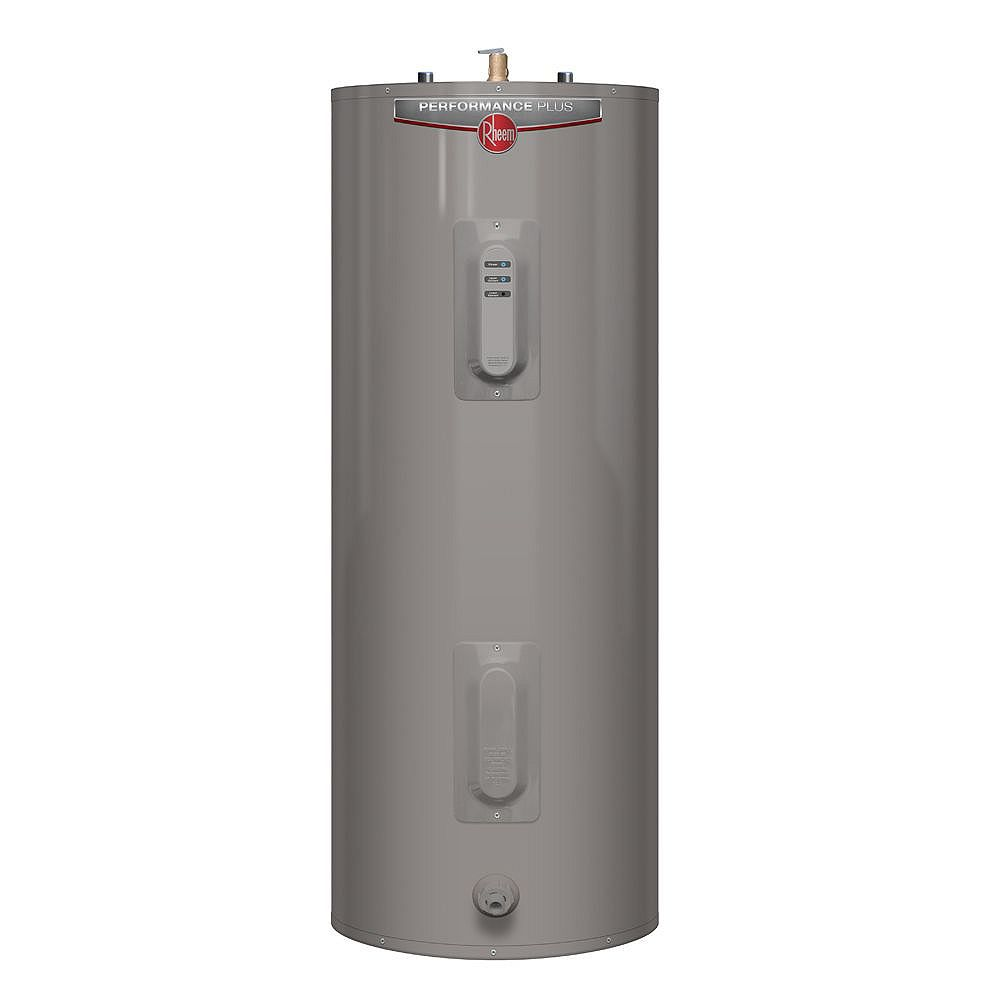 Rheem Performance Plus 63 Imperial Gal Electric Water Heater with 9 Year Warranty