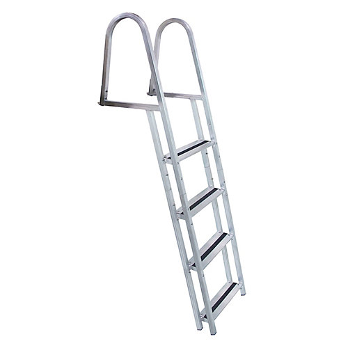 Stand Off 4-Step Aluminum Dock Ladder