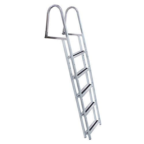 Stand Off Aluminum Dock Ladder, 5 Step
