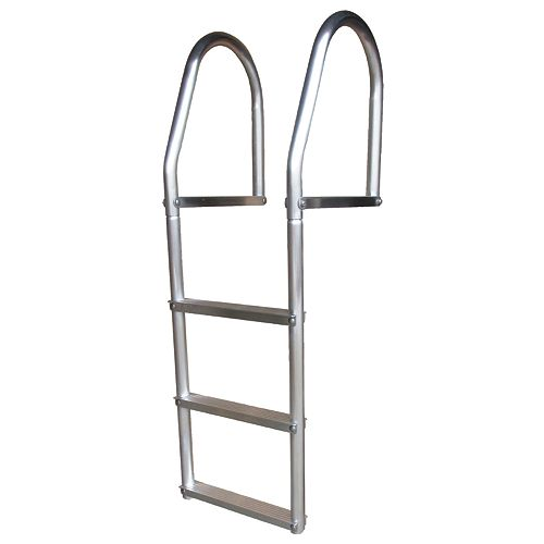 """ECO Weld Free Aluminum Dock Ladder,"""