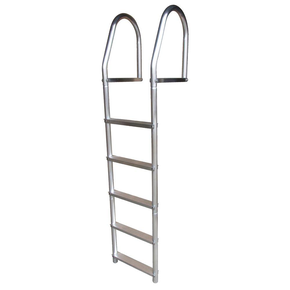 "Dock Edge ""ECO Weld Free Aluminum Dock Ladder,"""