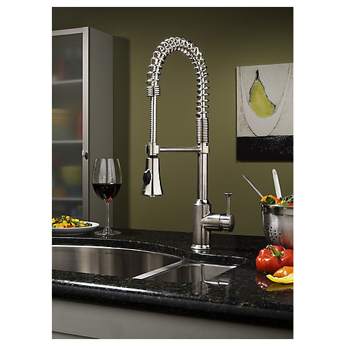Pekoe Semi-Professional Kitchen Faucet in Polished Chrome
