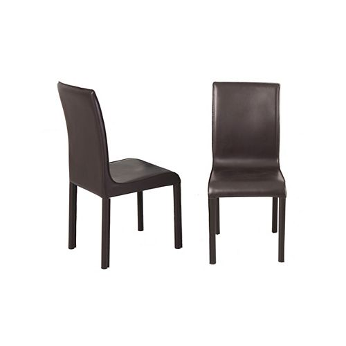 Nesso - Box of 2 - Side Chair - Brown