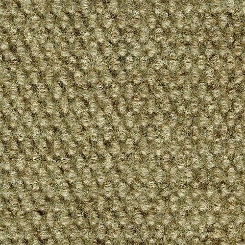 Carreaux de moquette pour intér./extér., 18 po x 18 po, motif clous de Paris, taupe, 36 pi2/par caisse