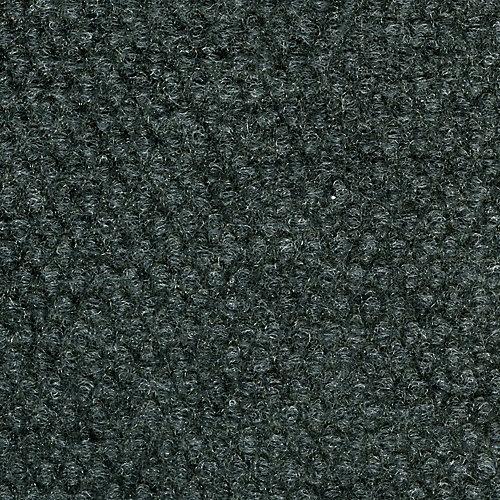 18-inch x 18-inch Gunmetal Hobnail Indoor/Outdoor Carpet Tile (36 sq. ft. / Case)