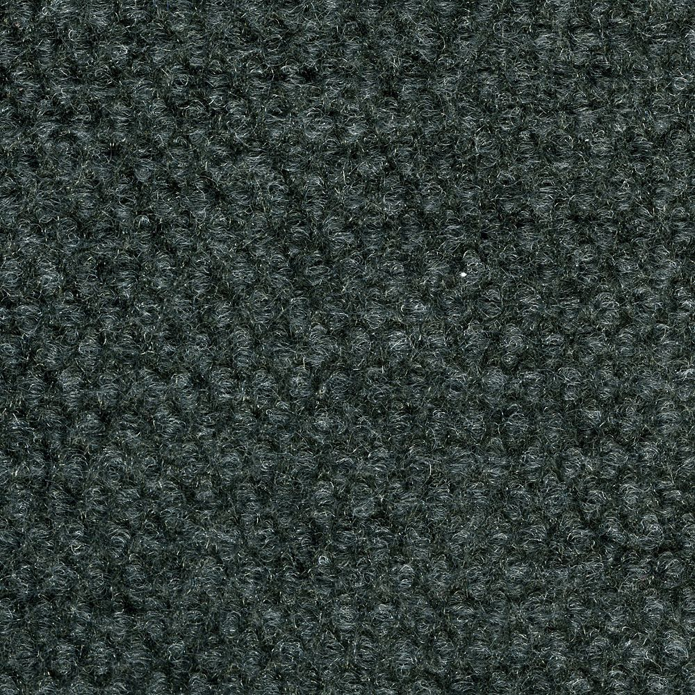 TrafficMaster 18-inch x 18-inch Gunmetal Hobnail Indoor/Outdoor Carpet Tile (36 sq. ft. / Case)