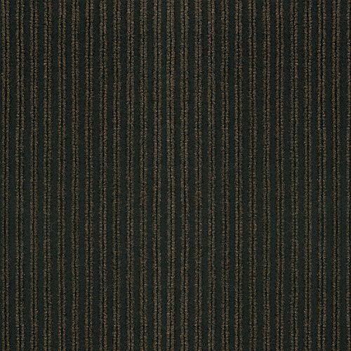 Corduroy Brown/Black 18 Inch x 18 Inch Carpet Tiles, 16 Tiles/Case - (36 Sq.Feet./Case)