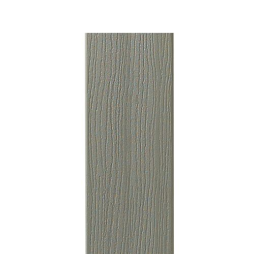 12 Ft. - HP Composite Capped Fascia Grey - 11 1/4 In. x 1/2 In.