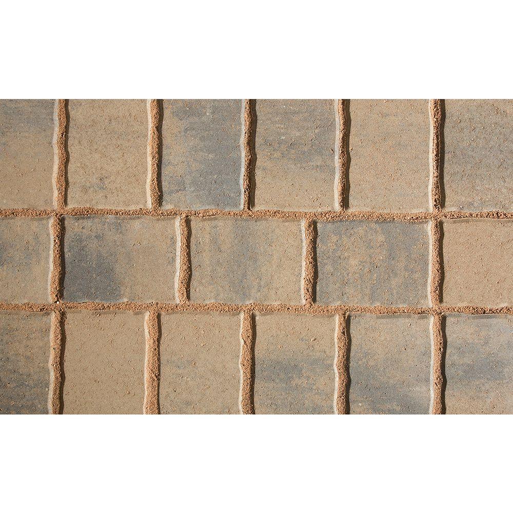 Shaw Brick 7.8-inch x 5.8-inch Chamois/Charcoal Heritage Slim 50 mm Pavers