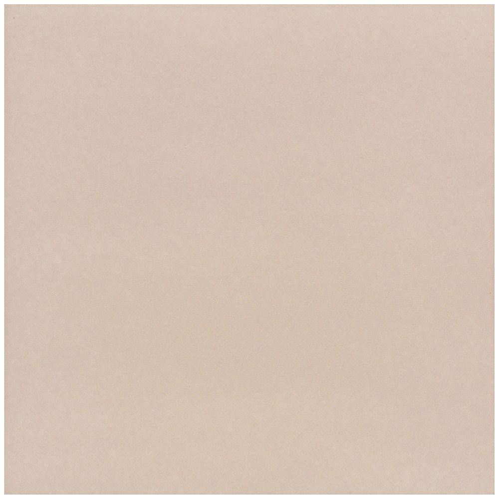 Dal Tile Carreau de sol et de mur 30,5 cm x 30,5 cm (12 po x 12 po) en porcelaine Viella Premiere Taupe