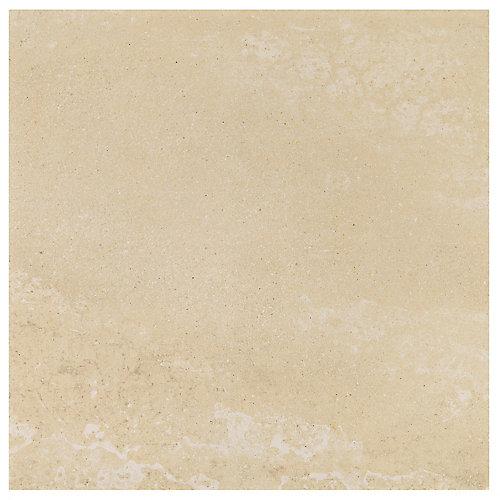 Viella Café Crème 12 inch x 12 inch Porcelain Floor and Wall Tile