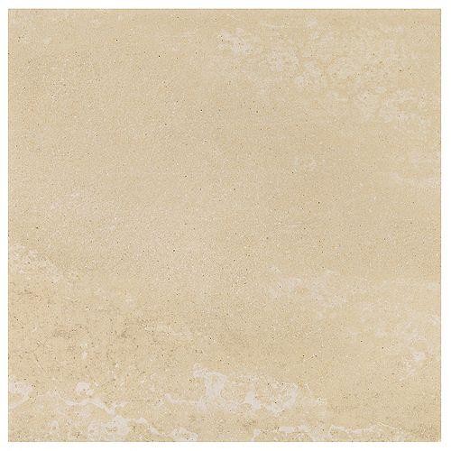 Dal Tile Viella Café Crème 12 inch x 12 inch Porcelain Floor and Wall Tile