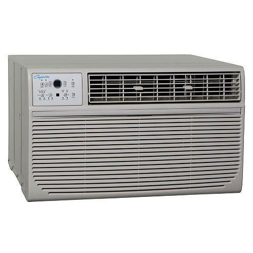 Comfort Aire Thru-The-Wall Heat/Cool Make 14000 Cool /10,000 BTU Heat with Remote 230V