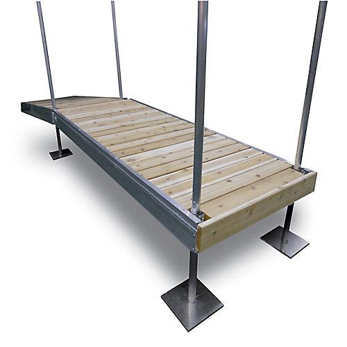 10Feet x 4Feet Frame Dock