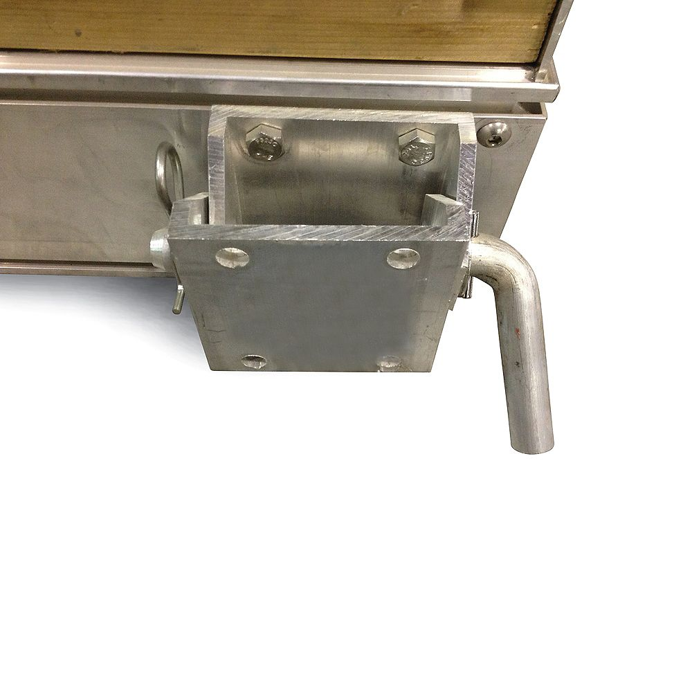 Fendock Floating Dock Frame Only (Ramp), 12Feet x 4Feet