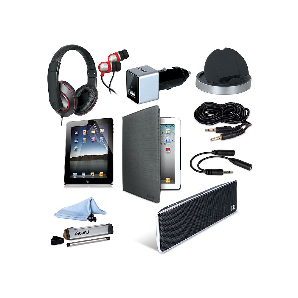 iSound Advance Pack for Pad 2, 3, & 4 (10 in 1)