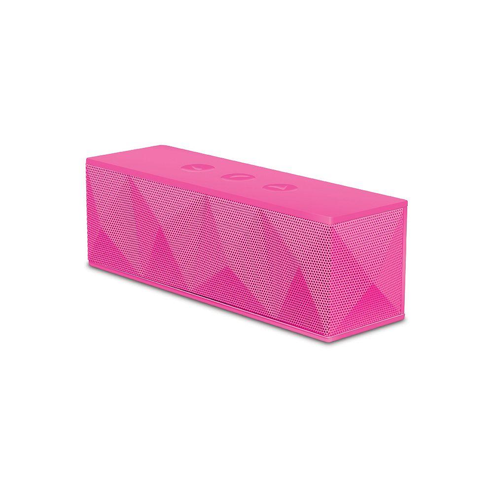 iSound Bluetooth Pyramid Speaker (pink)