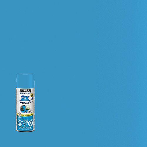 Rust-Oleum Painter's Touch 2X Peinture Multi Usages En Bleu Oasis Satiné - 340 G Aérosol