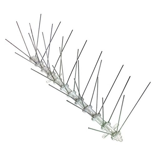 Stainless Steel Bird Spikes 10 Foot Kit Guaranteed Bird Repellent Control #1 Best Seller