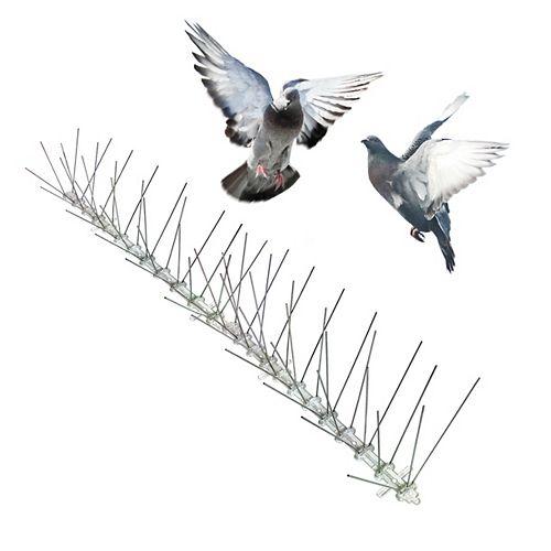 Bird-X Inc. Stainless Bird Spikes 24 Foot Kit Guaranteed Bird Repellent Control