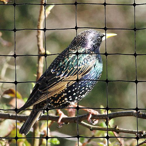"""Standard Bird Netting 200 Feet X 14 Feet  Lightweight Bird Control 3/4"""" Molded Mesh #1 Best Seller"""