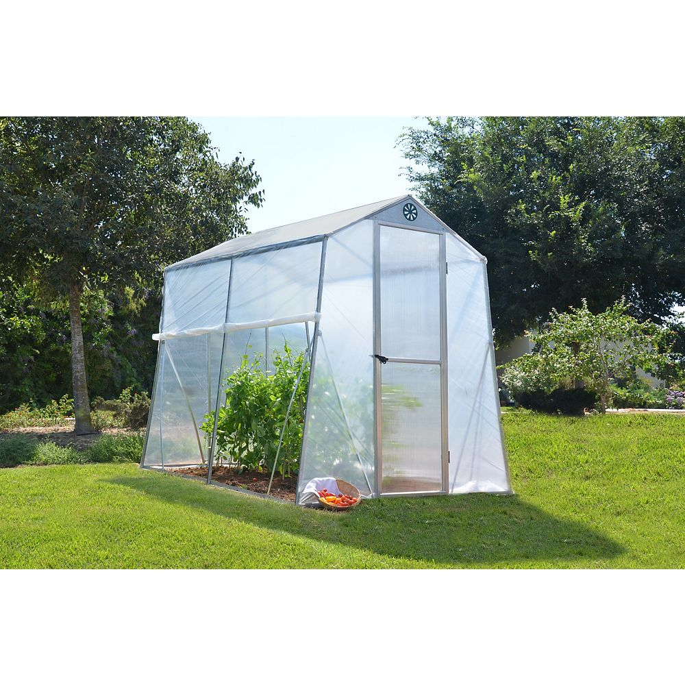 Palram Deluxe Allegro 6 ft. x 8 ft. Greenhouse