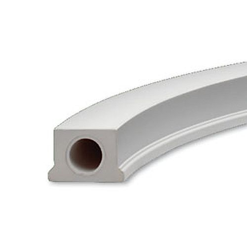 4 1/2-inch x 3 1/8-inch x 84 27/32-inch Polyurethane Radius Bottom Rail for 5-inch Balustrade System