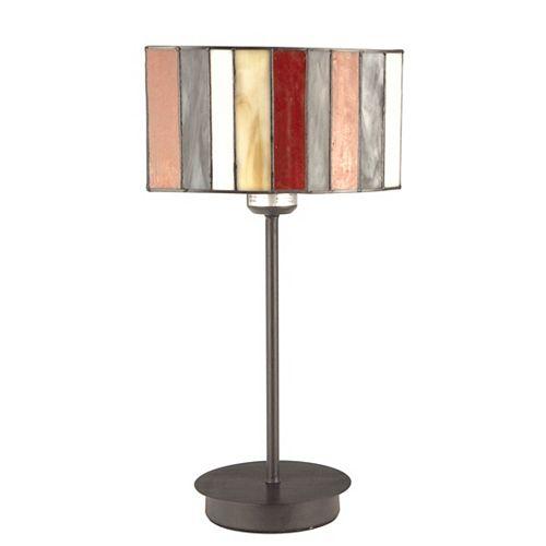 """Lampe de table tiffany 16"""" de la collection lacapella"""