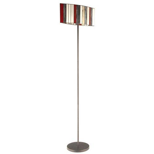 "Lampe sur pied tiffany 68"" haut de la collection lacapella"