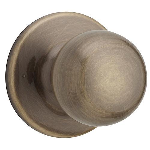 Fairfax Antique Brass Passage Knob