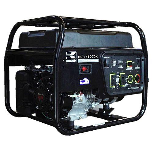 Generator (4500 watts) - Powered by Honda GX270 engine