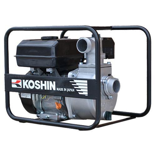 Pompe centrifuge koshin sev-50x alimenté par moteur koshin k180