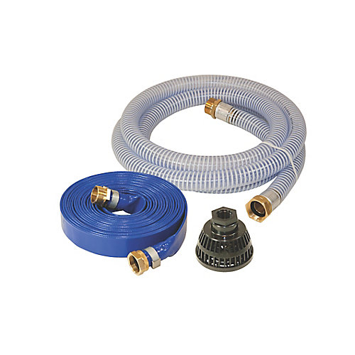 One inch water pump hose kit